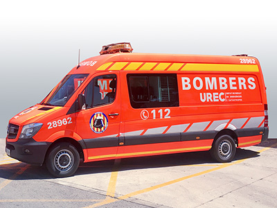 Bomberos Sprinter L4H2