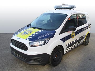 Ford Courier Policía